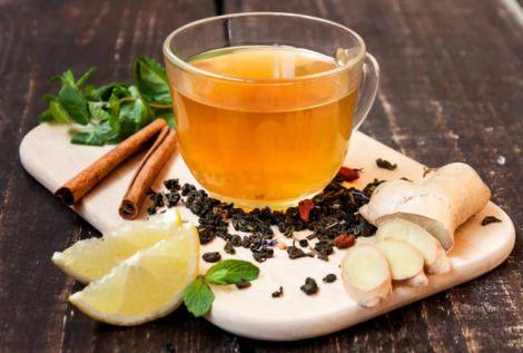 Чай з імбирем від похмілля