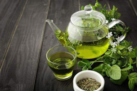Зелений чай ефективно спалює жири