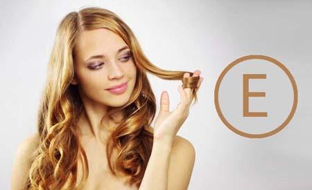 Вітамін Е для волосся