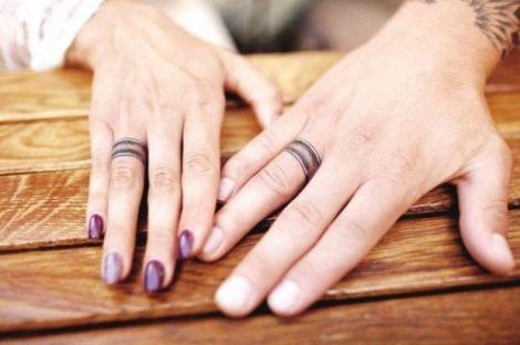 Татуювання замість обручок (ФОТО)