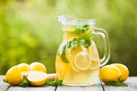 Лимонад для очистки організму