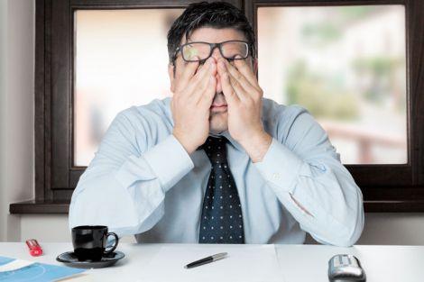 Серйозні симптоми перевтоми