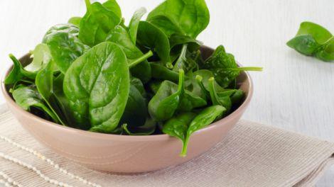 Шпинат врятує від дефіциту вітаміну Е