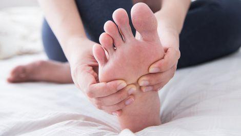Лікуємо грибок на руках і ногах