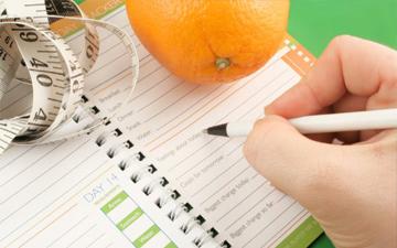 якщо правильно вести щоденник схуднення, то результат не забарится