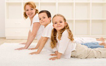 заняття спортом можливе і за участю дітей