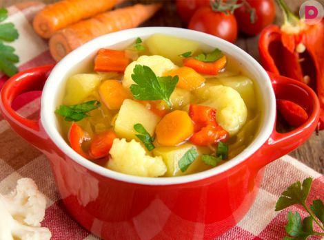 Суп для швидкого схуднення