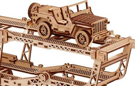 Экологически чистые игрушки WoodTrick - счастье для ребенка