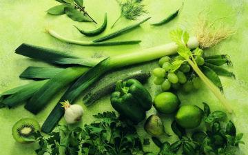 Зелень - лідер продуктів для нирок