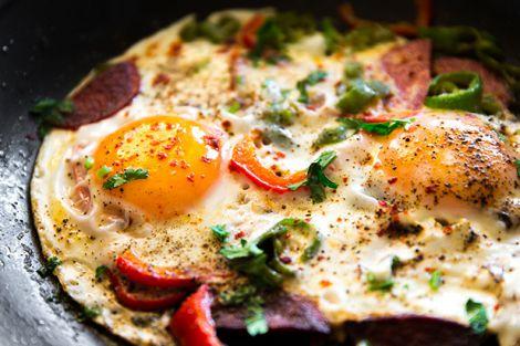 Омлет на сніданок
