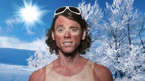 Зимове сонце в лютому може привести до опіку шкіри
