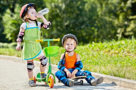 Польза самоката для ребенка