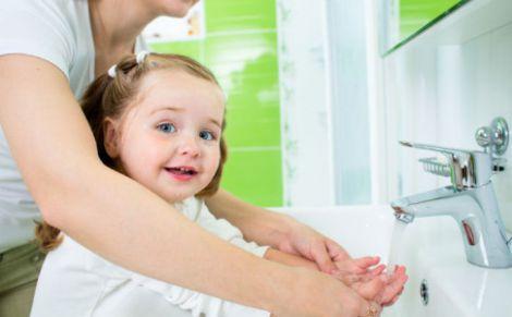 Як мити руки?