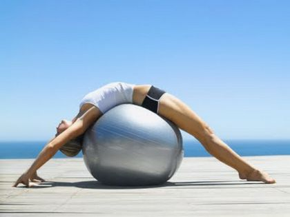 правильно вибраний фітбол допоможе ефективно виконувати вправи