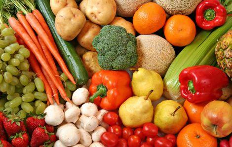 овочі і фрукти