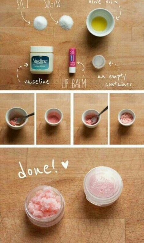 Скраб для губ в домашних условиях кофе